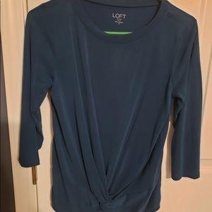 Loft 3/4th length shirt